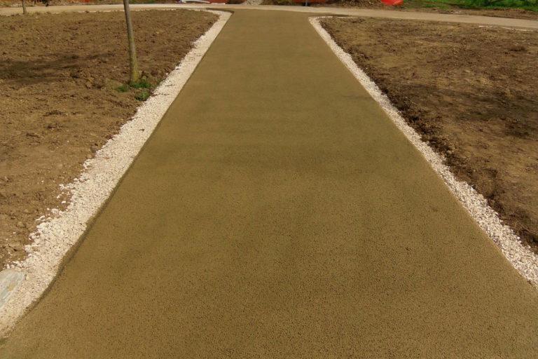 Pavimentazioni Drenanti per strade sterrate e strade vicinali